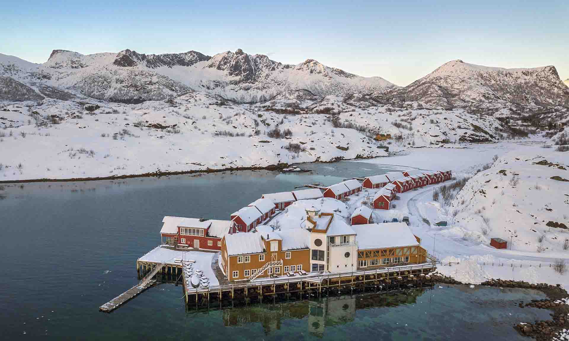 Nyvågar Rorbuhotell - by Classic Norway Hotels - Kabelvåg | Cosy Places by C&C