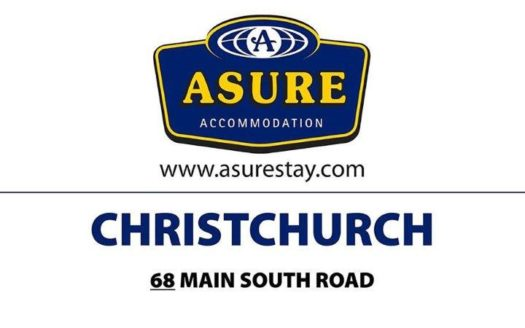 ASURE Amalfi Motor Lodge - Christchurch   Cosy Places by C&C